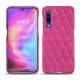 Coque cuir Xiaomi Mi 9 - Rose BB - Couture