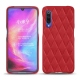 Coque cuir Xiaomi Mi 9 - Rouge troupelenc - Couture