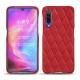 Funda de piel Xiaomi Mi 9 - Rouge troupelenc - Couture