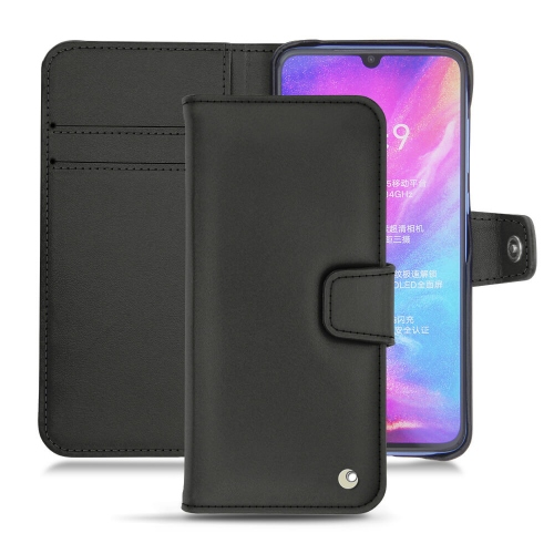Capa em pele Xiaomi Mi 9 - Noir ( Nappa - Black )