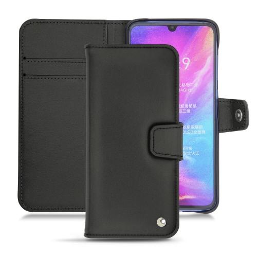 Xiaomi Mi 9 leather case - Noir ( Nappa - Black )