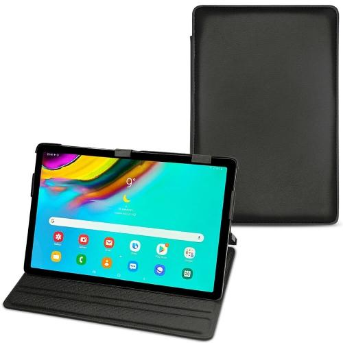 レザーケース Samsung Galaxy Tab S5e - Noir PU