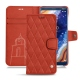 Nokia 9 PureView leather case - Arange clouquié - Couture