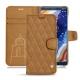 Nokia 9 PureView leather case - Castan esparciate - Couture
