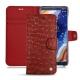 Housse cuir Nokia 9 PureView - Autruche ciliegia
