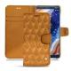 Housse cuir Nokia 9 PureView - Or Maïa - Couture