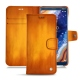 Lederschutzhülle Nokia 9 PureView - Orange Patine