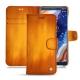 Nokia 9 PureView leather case - Orange Patine