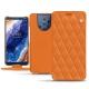 Lederschutzhülle Nokia 9 PureView - Orange - Couture ( Nappa - Pantone 1495U )