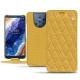 Capa em pele Nokia 9 PureView - Mimosa - Couture ( Pantone 141C )