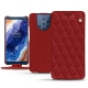 Nokia 9 PureView leather case - Tomate - Couture ( Pantone 187C )