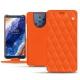Capa em pele Nokia 9 PureView - Orange fluo - Couture