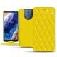 가죽 커버 Nokia 9 PureView - Jaune fluo - Couture