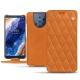 Nokia 9 PureView leather case - Mandarine vintage - Couture