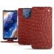 Lederschutzhülle Nokia 9 PureView - Autruche ciliegia