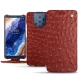 Nokia 9 PureView leather case - Autruche ciliegia