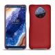 Custodia in pelle Nokia 9 PureView - Rouge ( Nappa - Pantone 199C )