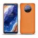 Custodia in pelle Nokia 9 PureView - Orange ( Nappa - Pantone 1495U )