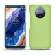 Custodia in pelle Nokia 9 PureView - Vert olive ( Nappa - Pantone 578U )
