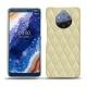 Custodia in pelle Nokia 9 PureView - Beige - Couture ( Nappa - Pantone 7502C )
