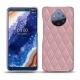レザーケース Nokia 9 PureView - Rose - Couture ( Nappa - Pantone 2365C )