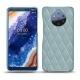 レザーケース Nokia 9 PureView - Bleu ciel - Couture ( Nappa - Pantone 277C )