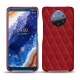 Custodia in pelle Nokia 9 PureView - Rouge - Couture ( Nappa - Pantone 199C )