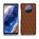 Custodia in pelle Nokia 9 PureView - Marron - Couture ( Nappa - Pantone 1615C )