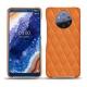 Custodia in pelle Nokia 9 PureView - Orange - Couture ( Nappa - Pantone 1495U )