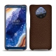 Custodia in pelle Nokia 9 PureView - Châtaigne ( Pantone 476C )
