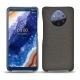 가죽 커버 Nokia 9 PureView - Anthracite ( Pantone 424C )