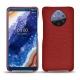 Custodia in pelle Nokia 9 PureView - Tomate ( Pantone 187C )