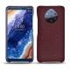 가죽 커버 Nokia 9 PureView - Lie de vin ( Pantone 5115C )