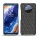 Custodia in pelle Nokia 9 PureView - Anthracite - Couture ( Pantone 424C )