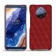 Nokia 9 PureView leather cover - Tomate - Couture ( Pantone 187C )