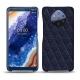 가죽 커버 Nokia 9 PureView - Cobalt - Couture ( Pantone 2766C )