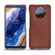 Nokia 9 PureView leather cover - Passion vintage ( Glutton - Red )