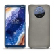 가죽 커버 Nokia 9 PureView - Acier vintage ( Pantone 403C )