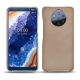 Nokia 9 PureView leather cover - Taupe vintage ( Pantone 7530C )