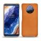 가죽 커버 Nokia 9 PureView - Mandarine vintage ( Pantone 165C )