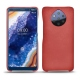 Custodia in pelle Nokia 9 PureView - Cerise vintage ( Pantone 185C )