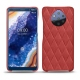 Nokia 9 PureView leather cover - Cerise vintage - Couture