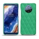 Nokia 9 PureView leather cover - Menthe vintage - Couture