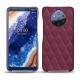 Custodia in pelle Nokia 9 PureView - Prune vintage - Couture