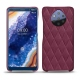 Nokia 9 PureView leather cover - Prune vintage - Couture