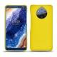 가죽 커버 Nokia 9 PureView - Jaune fluo