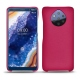Nokia 9 PureView leather cover - Rose fluo
