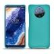 가죽 커버 Nokia 9 PureView - Bleu fluo
