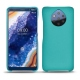 Nokia 9 PureView leather cover - Bleu fluo