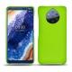 가죽 커버 Nokia 9 PureView - Vert fluo
